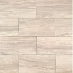 Faber Carrara Porcelain Glossy X High Definition Tile In - 6 x 12 white porcelain tile