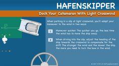 Hafenskipper - Dock Your Catamaran With Light Crosswind