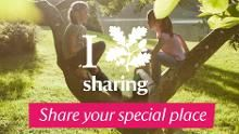Share your love of special places on our Facebook app to be part of The Special Places Project.