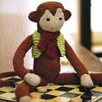 DIY Knitting DIY Yarn : DIY Knit a toy monkey -