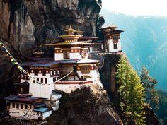 Taktsang Palphug Monastery / Tiger's Nest, Bhutan (Condé Nast Traveler)