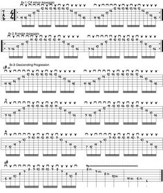 Secrets of Shred with Sammy Boller: A Guide to Sweep Arpeggios with Chromatic Runs - Guitar World Music Theory Guitar, Guitar Tabs Songs, Guitar Sheet Music, Guitar Chord Chart, Jazz Guitar, Acoustic Guitar Chords, Guitar Chords Beginner, Guitar Riffs, Music Chords
