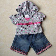 Build a bear duffy bear toy clothes set(China (Mainland))