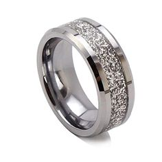 King Will 8mm Glitters Bright Tungsten Ring Mens Wedding Band Beveled Edge High Polished(9) King Will http://www.amazon.com/dp/B00LEC18YK/ref=cm_sw_r_pi_dp_NnyMvb0E0NCCD