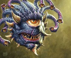 Xanathar by RalphHorsley on DeviantArt