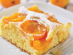 and almond slice Apricot & Almond Slice Pin - an old-fashioned baking favourite. Whip this up for a delicious afternoon tea treat.Apricot & Almond Slice Pin - an old-fashioned baking favourite. Whip this up for a delicious afternoon tea treat. Fruit Recipes, Wine Recipes, Sweet Recipes, Baking Recipes, Dessert Recipes, Apricot Slice, Apricot Cake, Just Desserts, Delicious Desserts