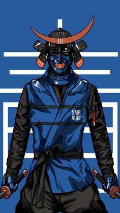 See wallpapers and ringtones from at Zedge now. Oni Samurai, Urban Samurai, Cyberpunk Character, Cyberpunk Art, Character Concept, Character Art, Character Design, Fantasy Characters, Anime Characters