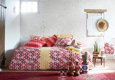 Linge de lit pas cher, Jalla, Descamps, luxe, haut de gamme - Côté Maison
