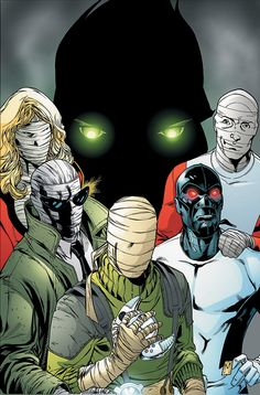 Doom Patrol #6 cover by Matthew Clark