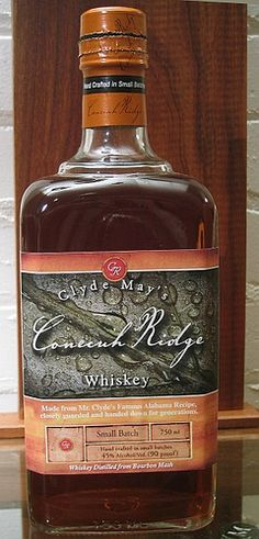 Alabama's state spirit is Conecuh Ridge Alabama Fine Whiskey.