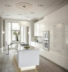 "jassssuuuu: "" All White Kitchen """
