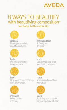 8 ways to use Aveda beautifying oil