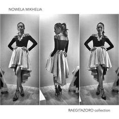 Nowela Mikhelia wearing RaegitaZoro collection