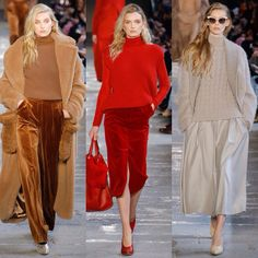 """1,288 Likes, 60 Comments - HF & Commercial Modelling (@hfconfess) on Instagram: """"Beauties #ElsaHosk , #LilyDonaldson and #OndriaHardin at the #MaxMara Fall 2017❤️ #HFOutfitpick :…"""""""