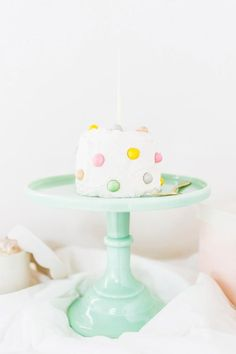 101 Theme Party Ideas - Cake Decorating Party: Get small cakes for your guests that are blank canvases—plenty of different colors of frosting and sprinkles are necessary—and host a cake decorating party. Make sure to have to-go boxes so your guests can take their cakes with them. | StyleCaster.com