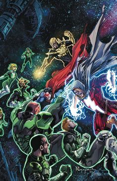 DC Comics FULL JUNE 2014 SOLICITATIONS