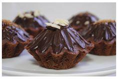 Muffins de chocolate con sal