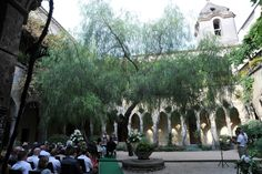 Civil weddings in the beautiful cloister of San Francesco in the heart of Sorrento, Italy.