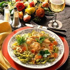 Hähnchenfilet mit Kohlrabi-Möhren-Gemüse Rezept | LECKER