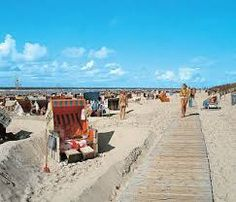 Duitsland reizen en vakantie: Langeoog Duitsland een kindvriendelijk eiland