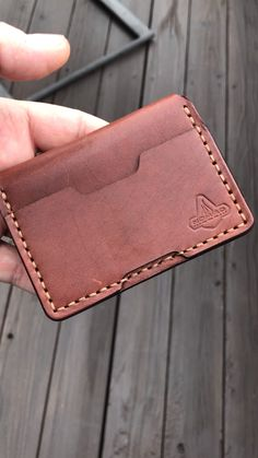 The post NOMAD Leather Wallets appeared first on Gift for Boyfriend. Minimalist Leather Wallet, Slim Leather Wallet, Handmade Leather Wallet, Leather Gifts, Leather Tool Pouches, Leather Phone Case, Leather Stamps, Leather Embossing, Leather Bag Pattern
