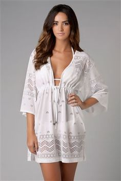 Ty has requested that i get a WHITE swimsuite cover-up for this summer. Wonder if this will pass his approval? Cute!