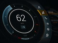 Concept Automotive UI / Denny Moritz