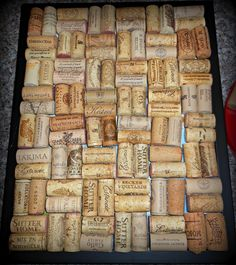 Upcycling Wine Corks