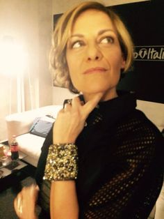 #irenegrandi indossa il #bracciale #elesitalia