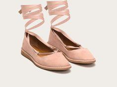 Blush - Helena Ankle Tie