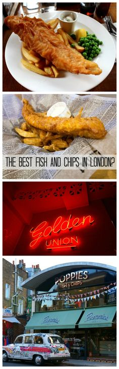Where to find the best Fish and Chips in London! Fish And Chips Restaurant, Best Fish And Chips, London Blog, Europe, Good Things, Travel, Food, Viajes, Essen