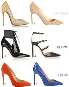 The Pointy toe lust list - Brooklyn Blonde