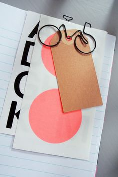 Bicycle paperclip