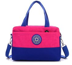 Ecokaki(TM) Lovely Leisure Wild Girl Canvas Adjustable Shoulder Bag Handbag ** You can get additional details at the image link. (This is an Amazon Affiliate link and I receive a commission for the sales)