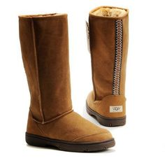 Ugg Ultimate Tall Braid Boots 5340 Chestnut