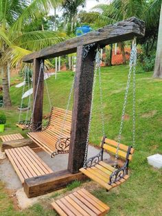 60 Amazing DIY Outdoor Projects Furniture Design Ideas – Diy Project - back yard diy projects Diy Garden Furniture, Furniture Ideas, Rustic Furniture, Modern Furniture, Antique Furniture, Outdoor Furniture Design, Yard Furniture, Outside Furniture, Furniture Buyers