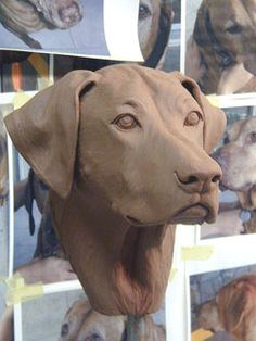 Portraits in Clay by Heidi Maiers - Portrait sculpture (busts) by commission in clay or bronze