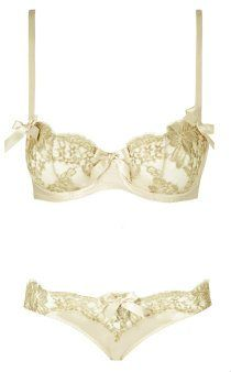 Gold lingerie: 11 Rue de Penthievre from Lucile London