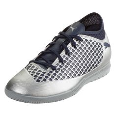 newest collection 914e2 7acb8 PUMA FUTURE 2.4 IT Jr Indoor Soccer Shoe Puma Silver Peacoat-5.5 Zapatos De