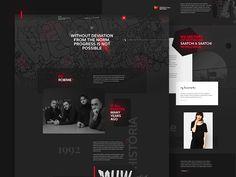 Website redesign for MUW Saatchi & Saatchi #branding #logo #identity #shape #graphicdesign #website #redesign #web #webdesign