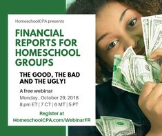 How to create easy-to-read financial reports for homeschool groups. Are you confused by the financial reports from your homeschool group? Confused, Homeschool, Group, Easy, Youtube, Homeschooling, Youtubers, Youtube Movies