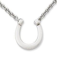 James Avery Horseshoe Necklace