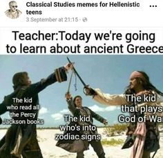 Ha I'm the kid who read all the Percy Jackson books as well as HoO and Trials of Apollo Percy Jackson Cosplay, Percy Jackson Fandom, Percy Jackson Film, Percy Jackson Head Canon, Percy Jackson Quotes, Percy Jackson Fan Art Funny, Viria Percy Jackson, Percy And Annabeth, Heroes Of Olympus