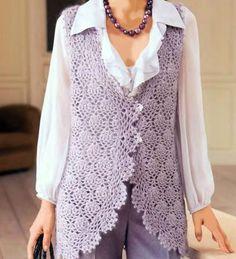 crochet home: crochet vest