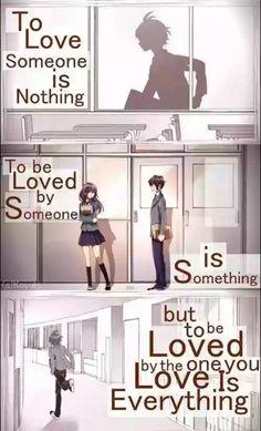 Aimer est le plus important