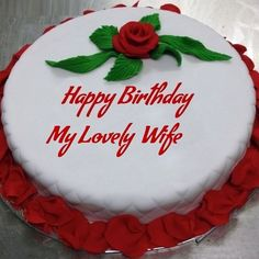 Birthday Cake for wife Images, Pictures and wallpapers