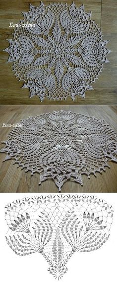 Ліст «Interested in Crochet doilies and Crochet motif? 14 ideas picked for you Crochet Doily Diagram, Crochet Doily Patterns, Crochet Art, Crochet Home, Thread Crochet, Irish Crochet, Crochet Motif, Crochet Designs, Crochet Crafts