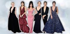 Golden Globes the key fashion trends on the red carpet - Particle News Golden Globes 2016, Red Carpet, Key, Fashion Trends, Unique Key, Keys, Trendy Fashion