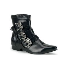Brogue-02, Demonia, Demonia Boots, Punk Shoes, Punk Boots, Creepers,... ($80) ❤ liked on Polyvore