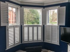 25 Best Shutters With Curtains Images Blinds Shutters
